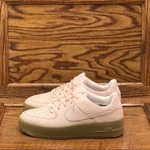 Nike Air Force 1 Sage Low LX  Washed Coral Shoes